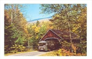 Flume Bridge, Franconia Notch, New Hampshire, 1940-1960s