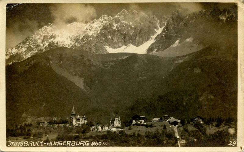 Austria - Innsbruck, Hungerburg - RPPC