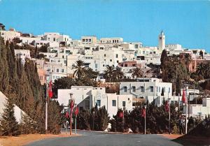 Tunisia Sidi Bou Said Panoramic View Panorama