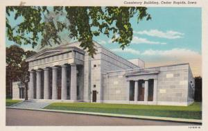 Iowa Cedar Rapids Consistory Building Curteich