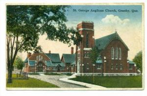 St George Anglican Church, Granby, Quebec, Canada, 1936