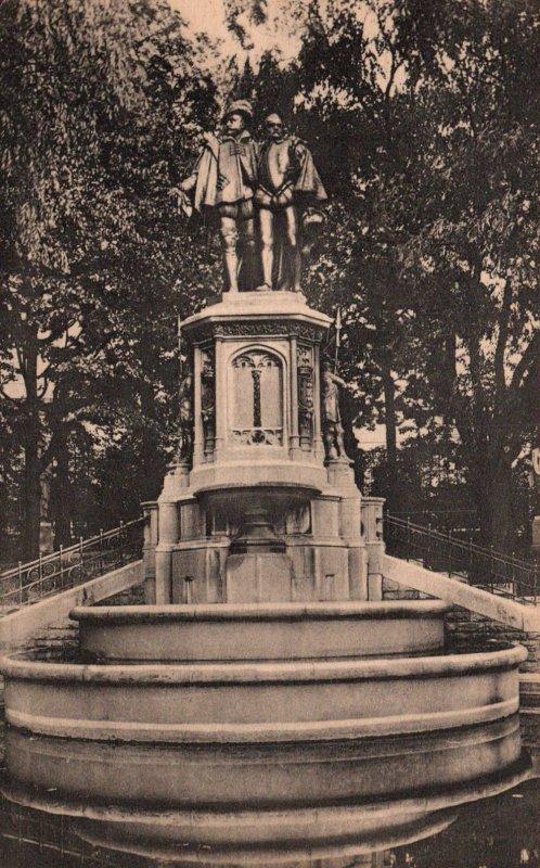 Monument en memoire des Comites d'Egmont et de Hornes,Brussels,Belgium BIN