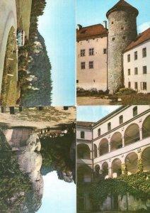 Krakow Gate Poland 4x Bus Ojcow Pieskowa Skala 4x Postcard s