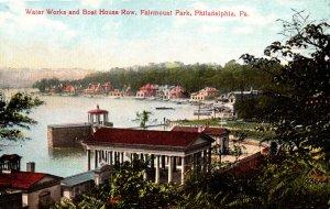 Pennsylvania Philadelphia Fairmount Park Water Works and Boat House Row