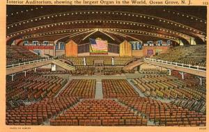 NJ - Ocean Grove, Auditorium, Interior