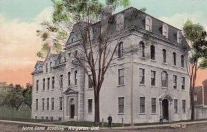 KINGSTON, Ontario, Canada, 1901-1907; Notre Dame Academy