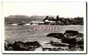 Old Postcard Tregastel The great gulf
