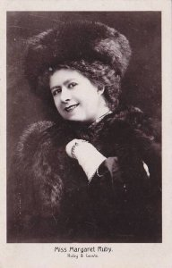 RP: Stage Actress , Miss Margaret Ruby of Ruby & Laws , 00-10s ; Autographed ...