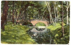 Portland, Me, Bridge and Pool, Deering Park