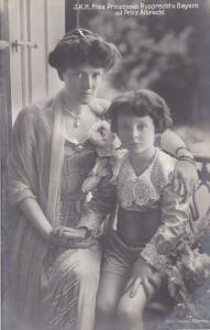 RP: J.K.H. Frau Prinzessin Rupprecht v. Bayern mit Prinz Albrecht , Germany ,...