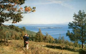 Schuyler Island in Lake Champlain NY, New York