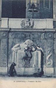 Fontaine Du Lion, Grenoble (Isere), France, 00-10s
