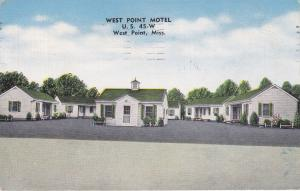 West Point Motel , WEST POINT , Mississippi , PU-1959