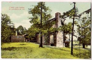 First Log Cabin, Louisville Ky