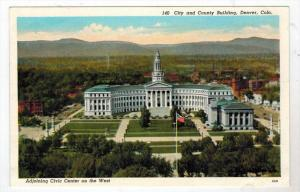Colorado  Denver , CITY & COUNTY BUILDING