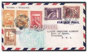 Portuguese Guinea Letter Bolama Trinidad June 2, 1941