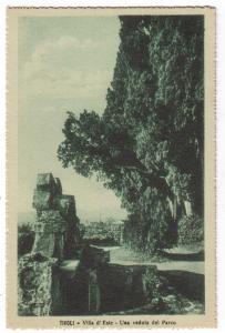 Tivoli - Villa d'Este - Uma veduta del Parco