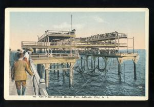Atlantic City, New Jersey/NJ Postcard, Net Haul Million Dollar Pier