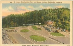 Newfound Gap Parking Area and Laura Rockefeller Memorial,...