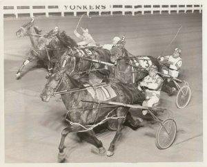 YONKERS Raceway, Harness Horse Race, MIZELLE HANOVER winner, March 6, 1974