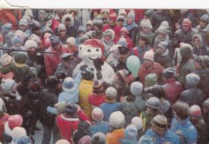 Arrivee du BONHOMME CARNAVAL , Quebec , Canada , PU-1984