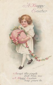 CLAPSADDLE ; A Happy EASTER , Girl , 1910