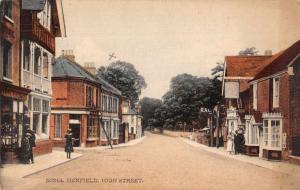 Henfield England High Street Antique Postcard J76834
