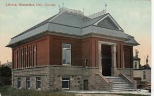 KINCARDINE , Ontario , 1900-10s ; Library