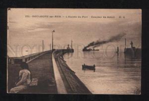058606 FRANCE LIGHTHOUSE in Boulogne-sur-Mer Vintage