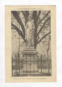 Statue De Sainte Reine, Aux Trois-Ormeaux, Alise-Sainte-Reine (Côte-d´Or), ...