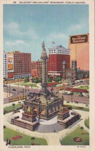 Ohio Cleveland Soldiers and Sailors Monument Curteich