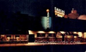 Miami Beach Florida USA Embers Restaurant Old Vintage Antique Postcard Post C...