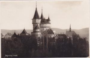 RP: The Castle of Bojnice , SLOVAKIA , 20-30s