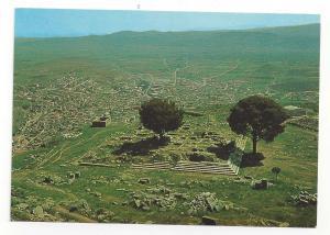 Bergama Turkey Zeus ve Bergama Pergamon Altar Ruins Continental Postcard 4X6