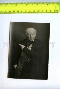 198499 Russian OPERA Singer ACTOR Old REAL PHOTO