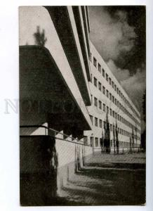 190765 WWII FINLAND Constructivism building Vintage RPPC 1942