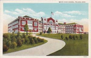 Ohio Toledo Waite High School Curteich