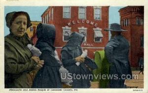 Mennonite & Amish People Lancaster PA 1950