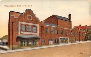 Opera House in Port Jervis, New York