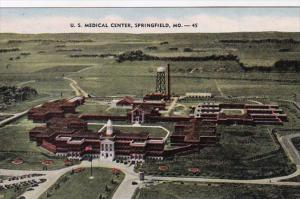 Missouri Springfield Aerial View United States Medical Center