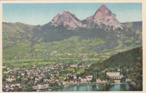 Switzerland Brunnen Ingenbohl Schwyz und die Mythen