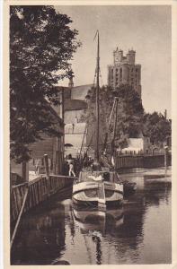 DORDRECHT (South Holland), Netherlands, 1910-1920s; Nieuwe Haven, Boat