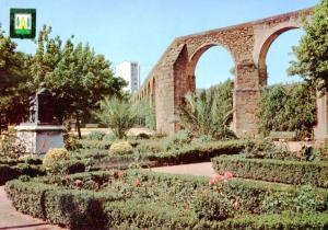 Postal 016669: PLASENCIA Caceres - Parque y acueducto romano