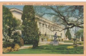 Henry E Huntington Library San Marino California