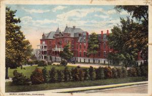 Mercy Hospital, DUBUQUE, Iowa, PU-1917
