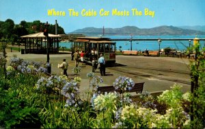 California San Francisco Maritime State Historical Park Where The Cable Car M...