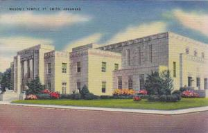 Masonic Temple, Fort Smith, Arkansas, 30-40s