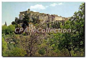 Modern Postcard Views and Landscapes of France A boom town that overlooks the...