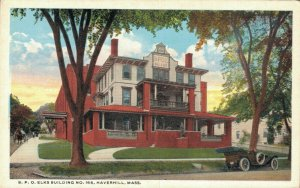 USA B.P.O Elks Building No. 165 Haverhill Massachusetts 06.54