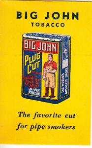 Big John Tobacco Pipe Cleaner Envelope